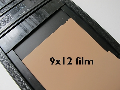 The 4x5 sized 9x12 film holder. At the first glance the holder looks like the 4x5 holder. However & Usable and Unusable Film Holders for Graflex